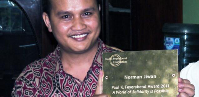 Norman Jiwan : lauréat ex-aequo du Prix Paul K. Feyerabend 2011
