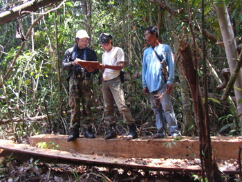 For the right to keep our community forest in Borneo