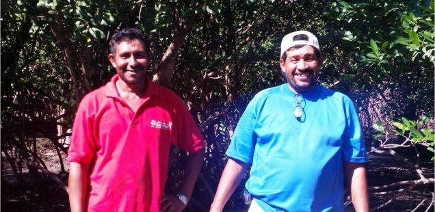 José Leónidas Ramos and Danilo Gómez, champions of ecological community development (Honduras)